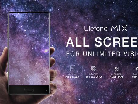 Παρουσιάστηκε επίσημα το all-screen Ulefone MIX