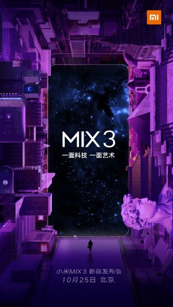 Xiaomi Mi Mix 3 launch event