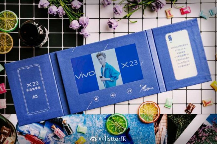 Vivo X23 launch event