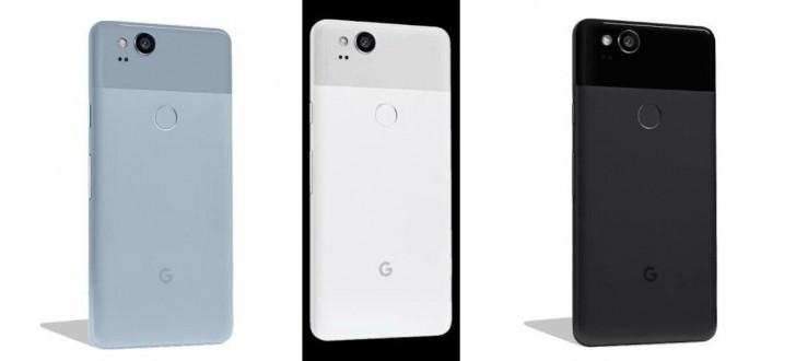 Google Pixel 2 leaked render
