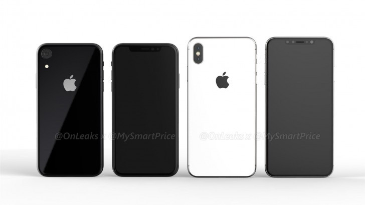 iPhone 6.1'' & iPhone 6.5'' renders