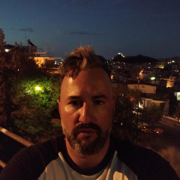 night selfie - auto mode