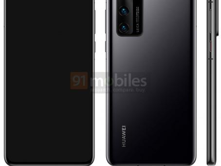 Εικόνες αποκαλύπτουν το Huawei P40 με triple-camera setup και dual selfie cam