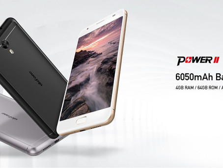 Ulefone Power 2 με μπαταρία τέρας, 4GB ram και Android 7.0