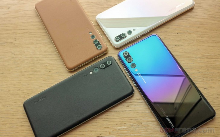 Huawei P20 Pro new colors