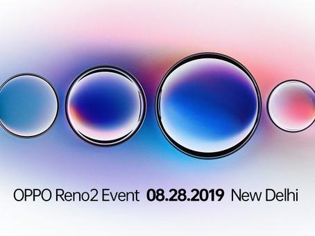 Έρχεται η Oppo Reno2 series στις 28 Αυγούστου με quad camera και 20x zoom
