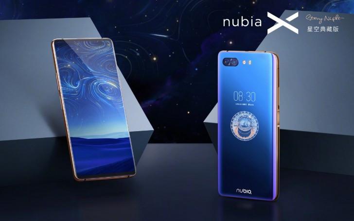 Starry Night edition Nubia X