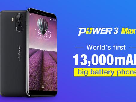 Έρχεται το Ulefone Power 3 Max με μπαταρία  - θηρίο 13000mAh