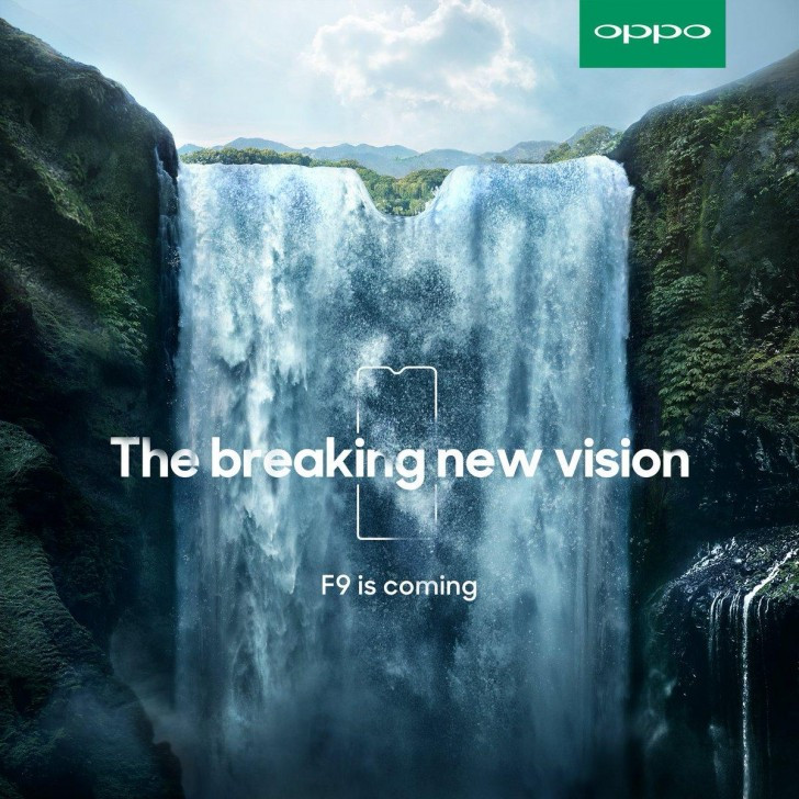 Oppo F9 is coming