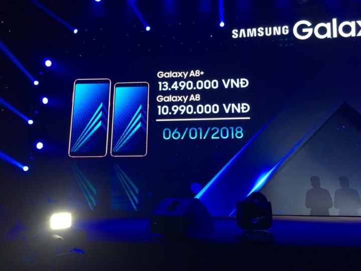 Samsung Galaxy A8 (2018) and A8+ (2018) release date