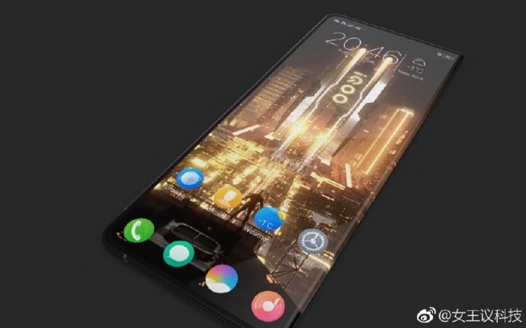 iQOO foldable phone