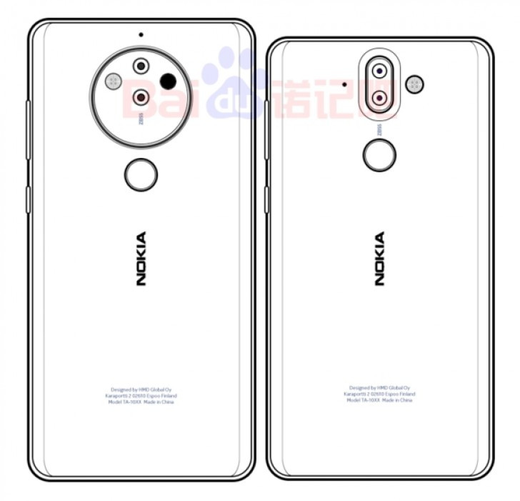 Nokia 8 Pro vs Nokia 9 renders