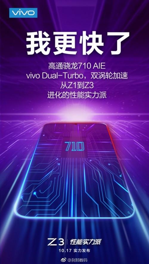 Vivo Z3 poster