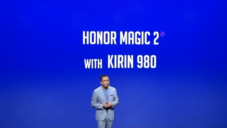 Honor Magic 2 with Kirin 980 soc