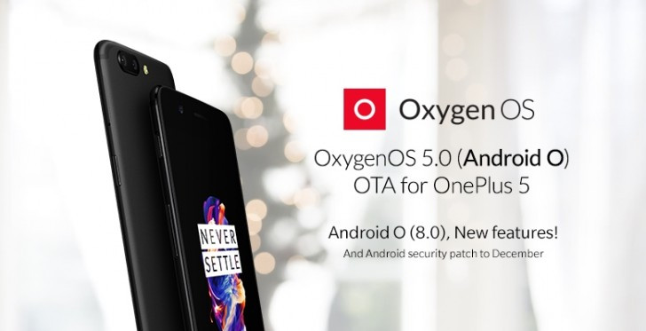 OxygenOS 5.0 OTA update for OnePlus 5