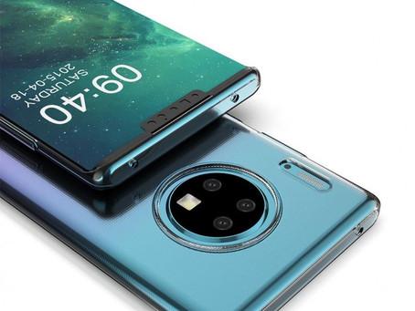Εικόνες και πληροφορίες σχετικά με το Huawei Mate 30 Pro: quad camera και curved οθόνη