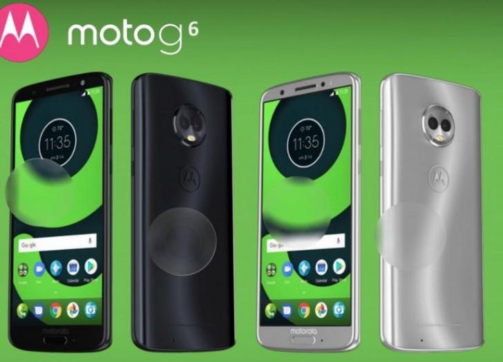 Moto G6 render