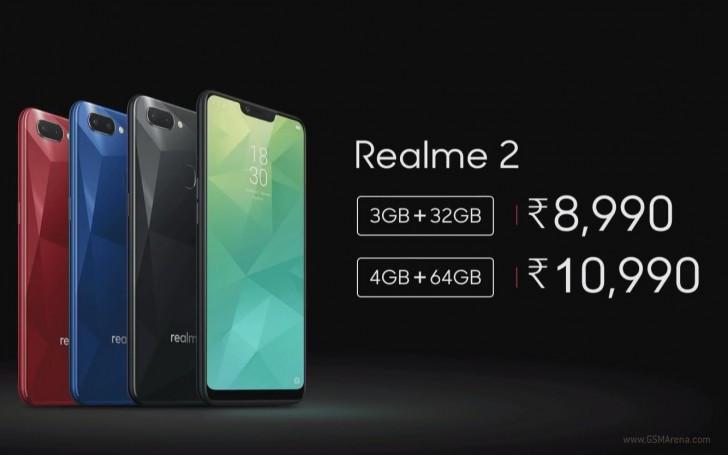 Oppo Realme 2 price