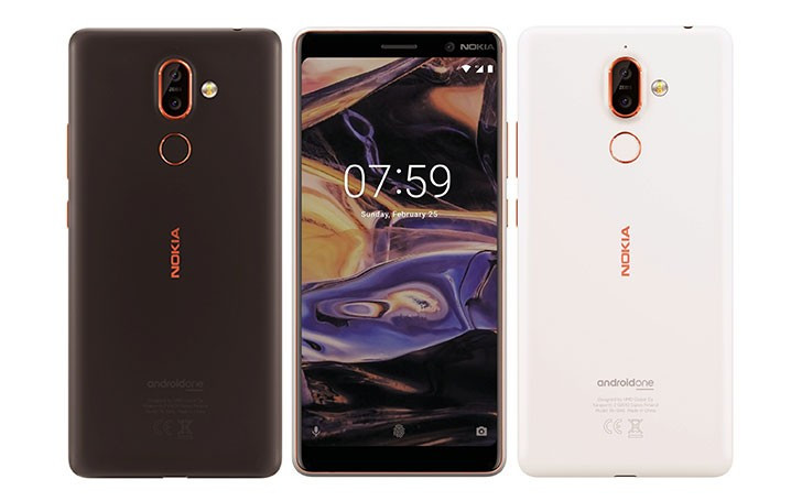 Nokia 7 Plus official render