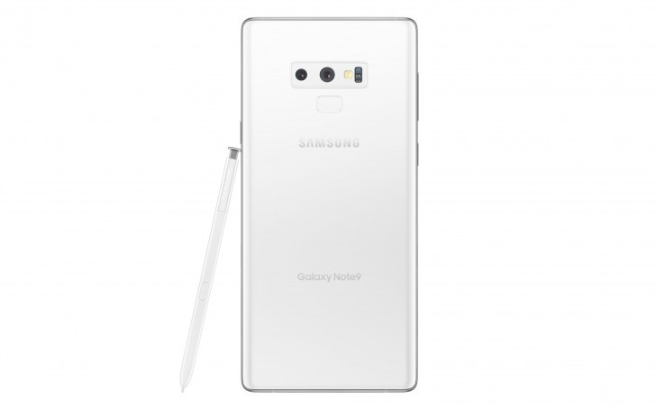Galaxy Note 9 Pure White edition