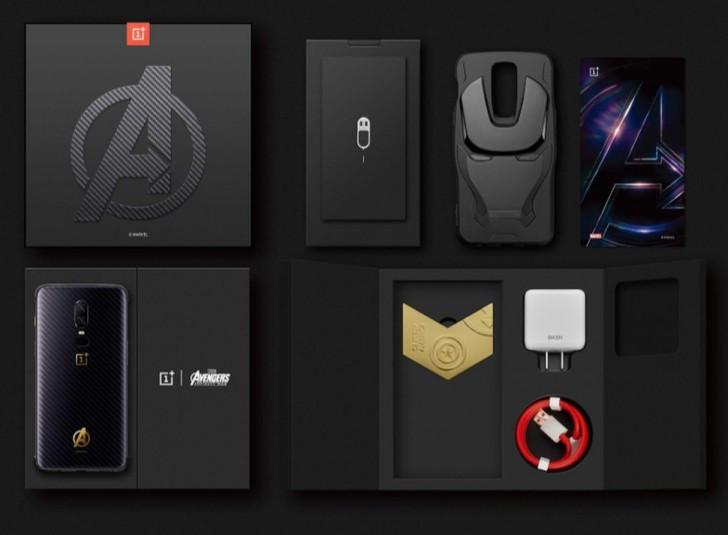 OnePlus 6 Avengers: Infinity War Edition box