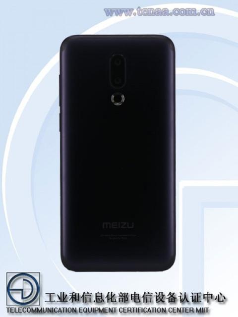 Meizu 16X via TENAA