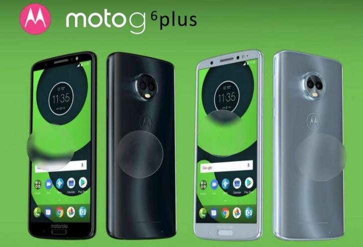Moto G6 Plus render