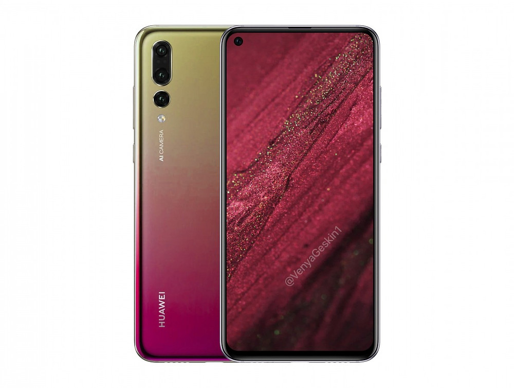Huawei Nova 4 render