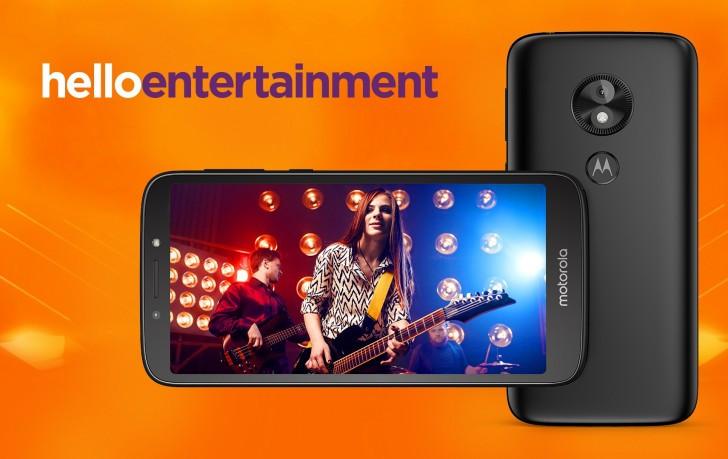 Moto E5 Android Go Edition