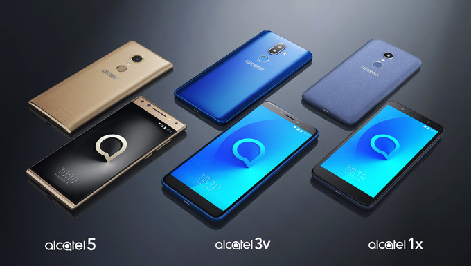 Alcatel 2018 smartphone lineup