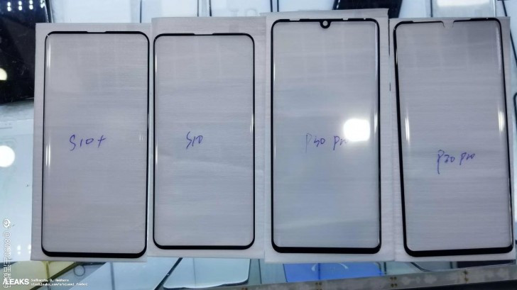 Galaxy S10 and S10+ vs Huawei P30 Pro screen protectors