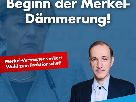 Merkel-Dämmerung!