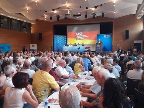 Wahlkampfveranstaltung in Petersberg
