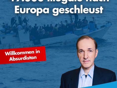 49.000 Illegale nach Europa geschleust