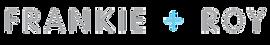 Frankie + Roy logo