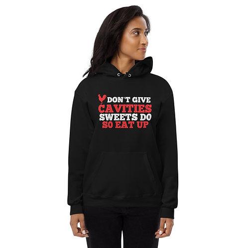 Cock Don't Give Cavities Sweets Do Unisex fleece hoodie