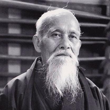 Sensei Morihei Ushiba - Art Martial Japonais