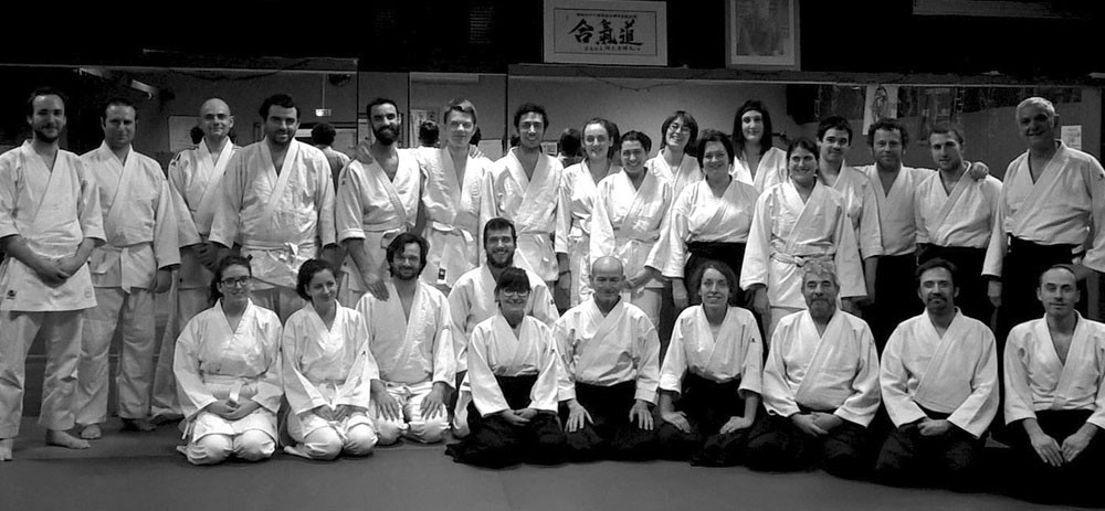 Apéro et Aikido au Club