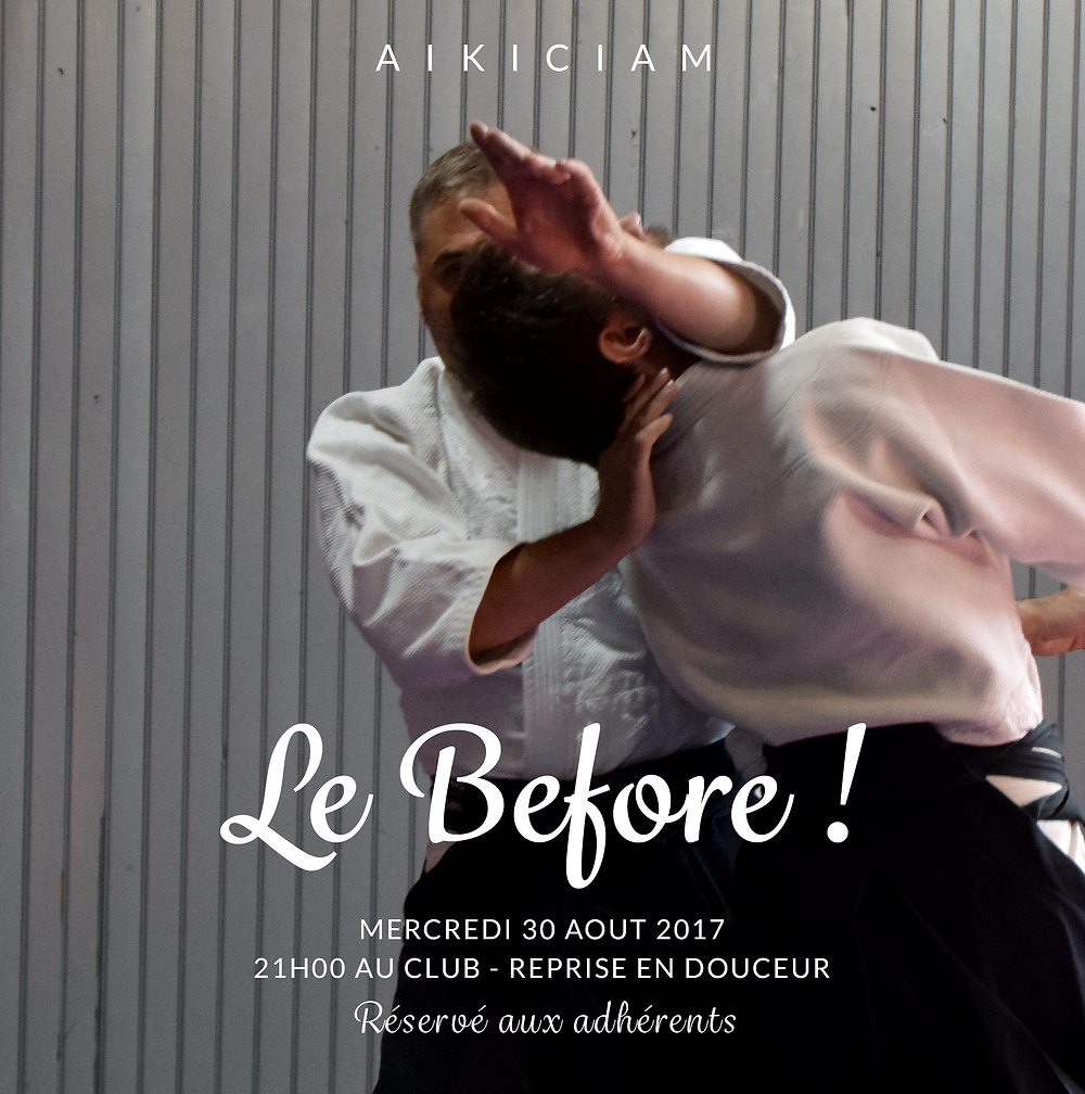 le Before - Aikido Montpellier