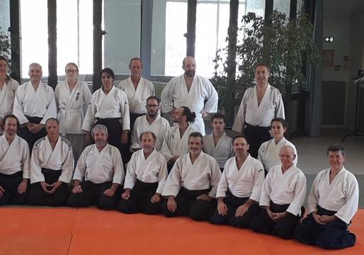 Nos amis du Cercle d'Aikido Montpellierain nous ont invité pour un interclubs
