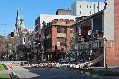 Earthquake Damaged Houses