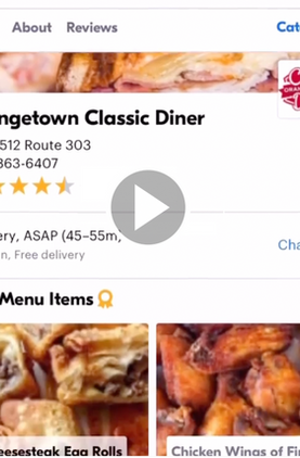 It was time to take the night off. So I ordered takeout from @orangetownclassicdiner through @grubhub. I'm so glad that I gave it a try. What a nice and easy process ...