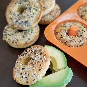 Peace, Love and Low Carb Everything Bagels