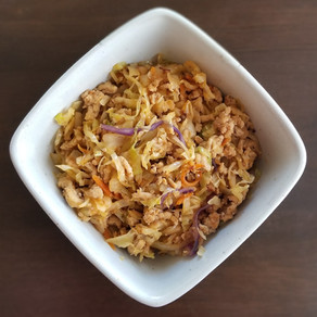 One Pan Crack Slaw (Egg Roll in a Bowl)