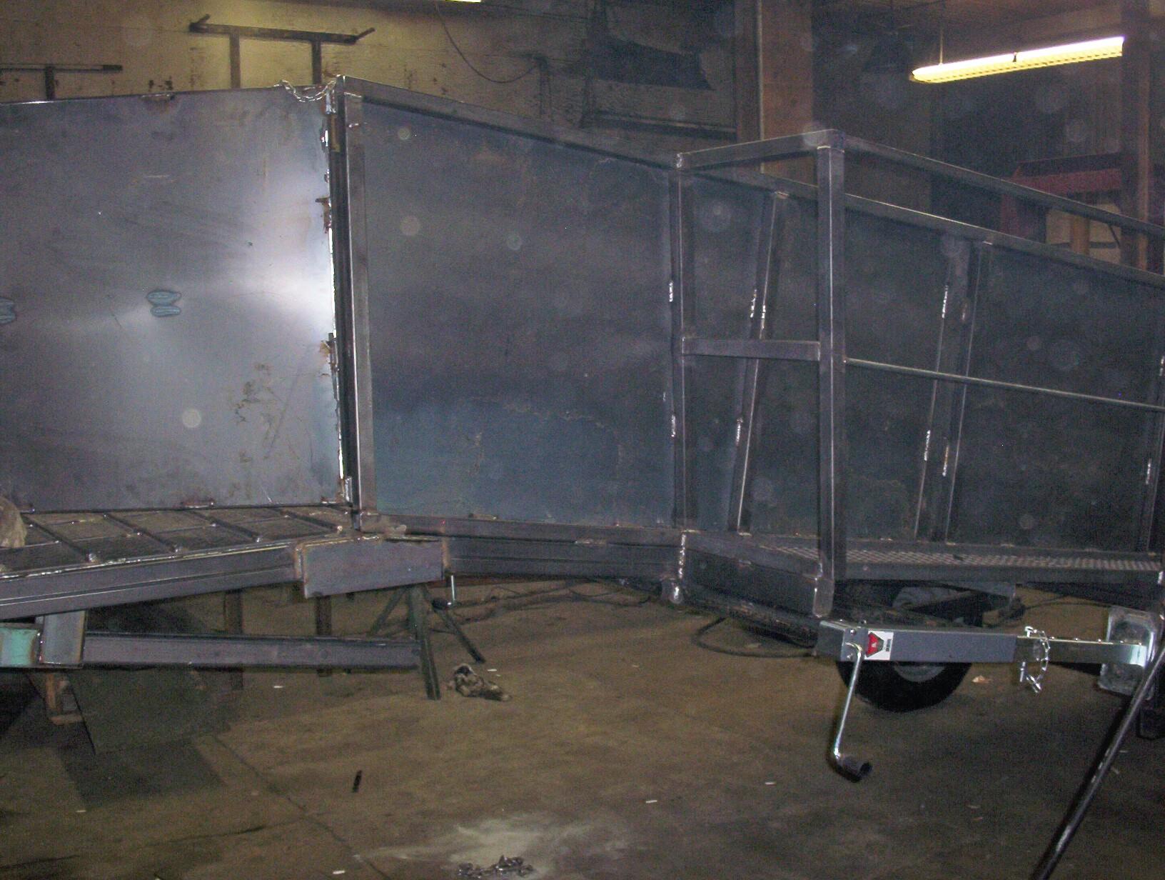 fabrication - portable loading chute