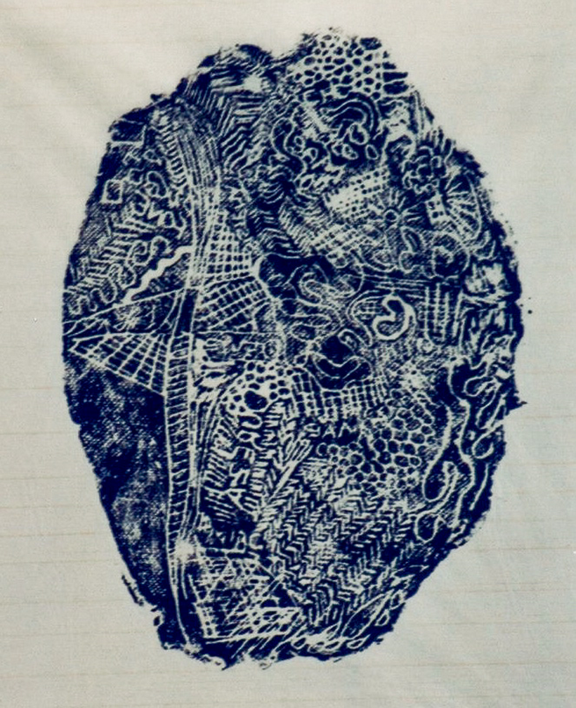 Digital I, Xilogravura