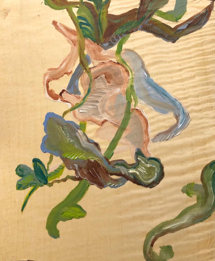 Série Crise, Pintura óleo sobre folha de madeira