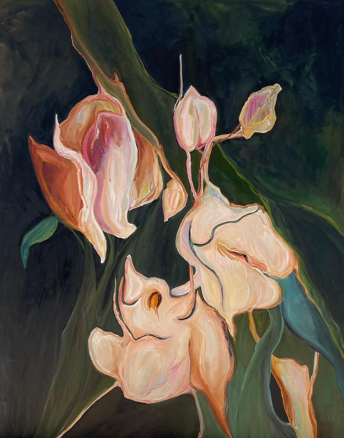 #3, série negro, pintura a óleo em tela