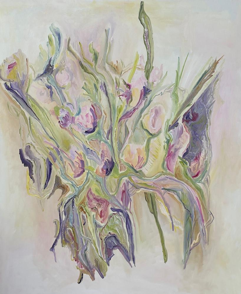 sem titulo, pintura óleo sobre tela