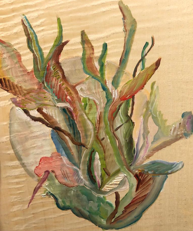 Série Crise, Pinura óleo sobre folha de madeira
